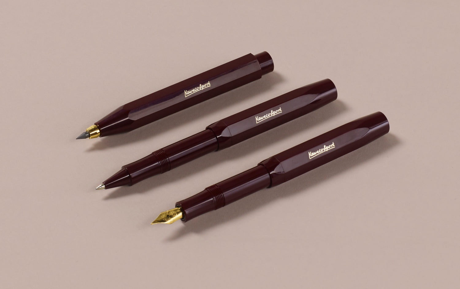Burgundy Kaweco Classic Sport 3.2mm Clutch Pencil