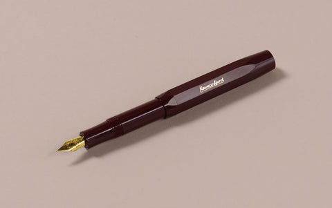 Burgundy Kaweco Classic Sport Fountain Pen