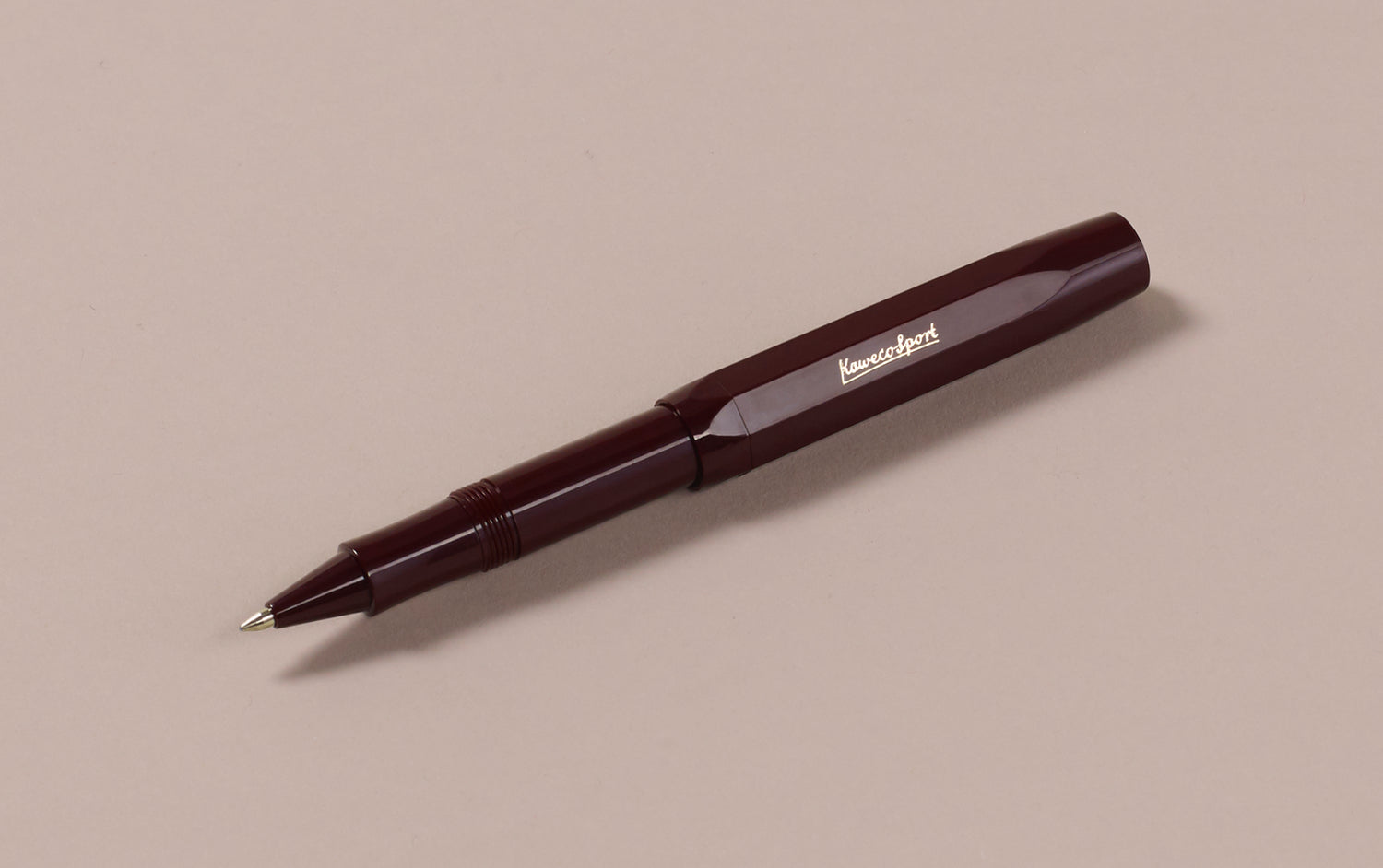 Burgundy Kaweco Classic Sport Rollerball Pen