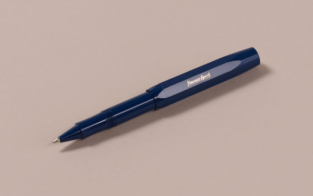 Navy Kaweco Classic Sport Rollerball Pen
