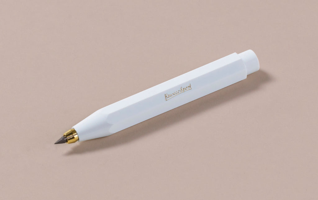 White Kaweco Classic Sport 3.2mm Clutch Pencil