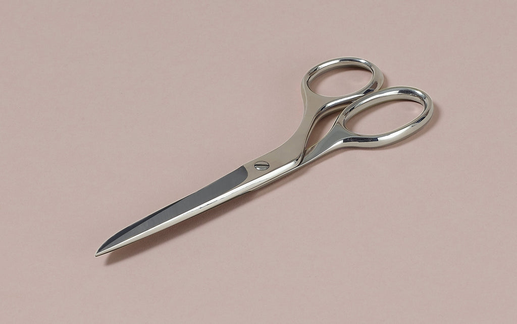 Nickel Plated Office Choosing Keeping Scissor