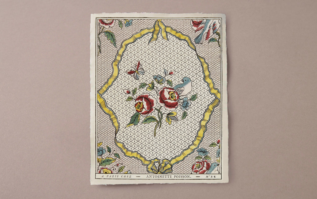 Antoinette Poisson Papier Dominoté No 54, Ribbons