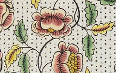 Antoinette Poisson Papier Dominoté No 51, Roses
