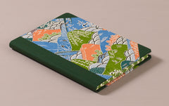 "Hardback ""Composition Ledger"" Katazome Notebook, Mountains"