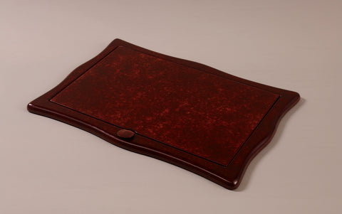 Luxury Tortoise Shell Leather Sottomani Desk Pad