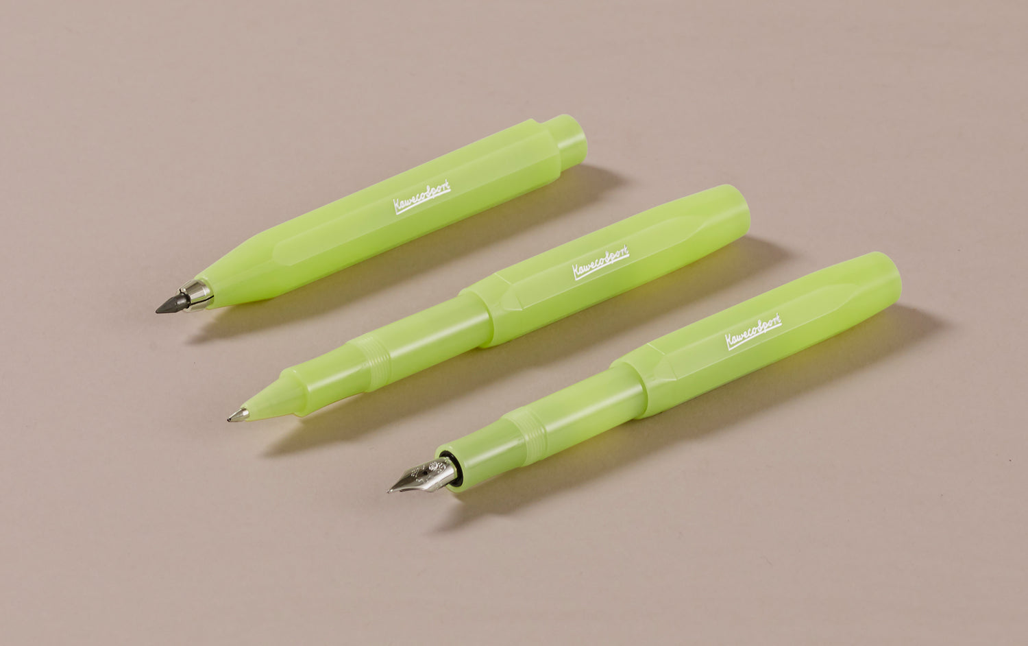 Fine Lime Kaweco Frosted Sport Rollerball Pen