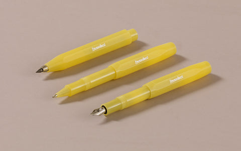 Sweet Banana Kaweco Frosted Sport Rollerball Pen