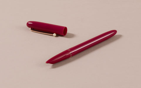 Retro Fountain Pen, Raspberry