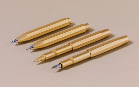 Matte Gold Kaweco Aluminium AL Sport 0.7mm Mechanical Pencil