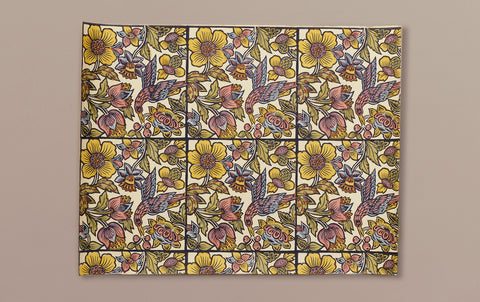 J Jeffery Paper, Tile Birds