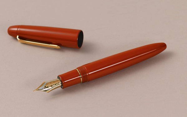Sailor Urushi King of Pens Fountain pen, Vermilion Red