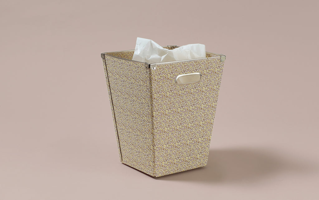 Liberty print Waste Paper Bin, Japanese Floral