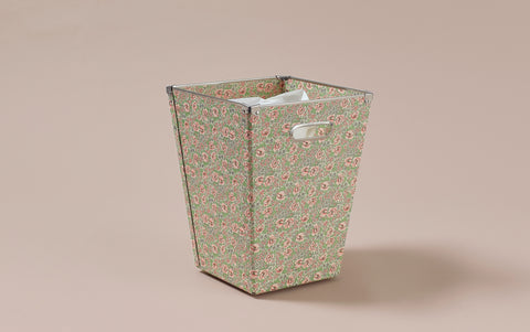 Liberty print Waste Paper Bin, Rose