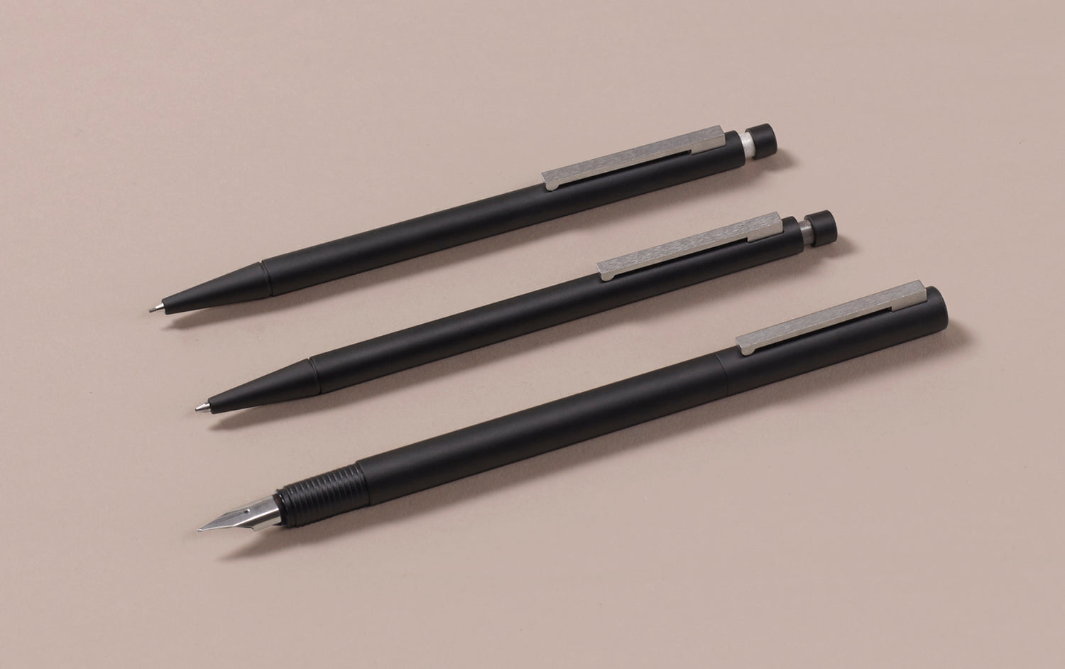 Matte Black Lamy CP1 0.7mm Mechanical Pencil