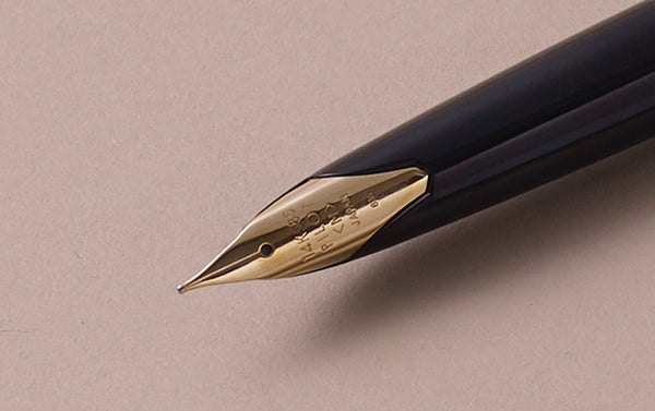 "1968 Black ""Elite"" Pocket Fountain Pen"