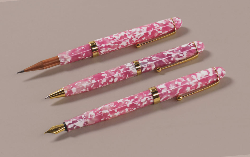 Ohnishi Seisakusho Cherry Tree Acetate Ballpoint Pen