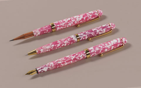 Ohnishi Seisakusho Cherry Tree Celluloid Ballpoint Pen