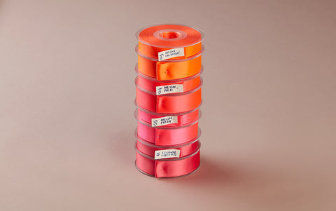 Premium Quality Swiss Ribbon, 25m roll - Pinks