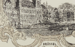 Bruxelles Greeting Card