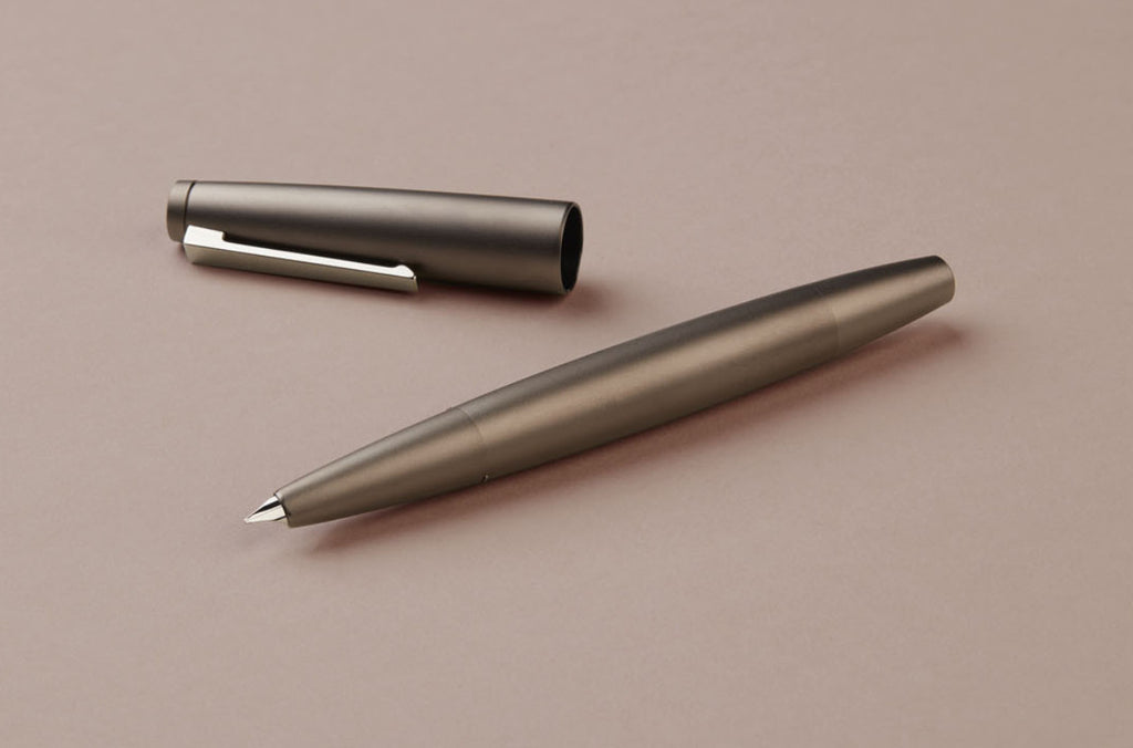 Black Amber Special Edition 50th Birthday Lamy 2000 Fountain Pen