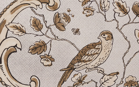 Antoinette Poisson Papier Dominoté No 24, Taupe