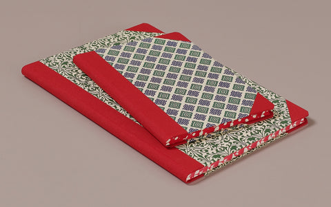 "Hardback ""Composition Ledger"" Notebook, Red Spine"
