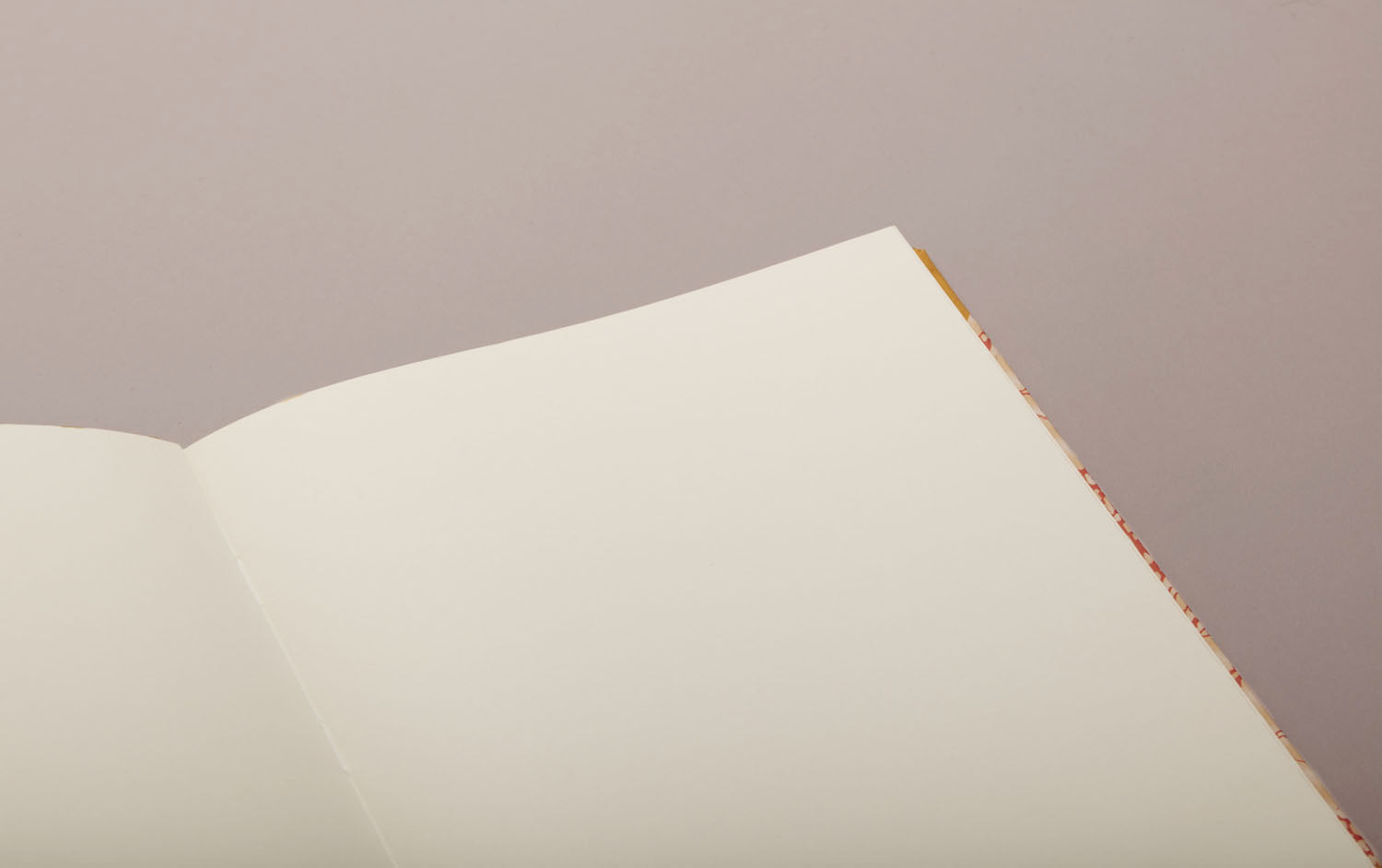 "Hardback ""Composition Ledger"" Chiyogami Notebook, Orange Spine"