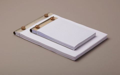 Accountant's desk notepad, all sizes