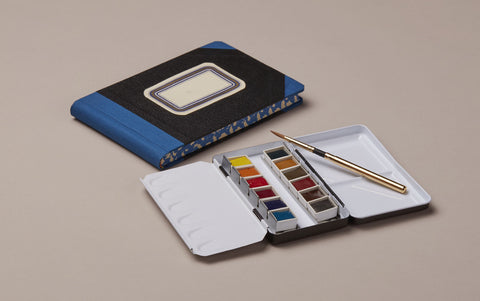 Traveller's 'Grand tour' Watercolour Set