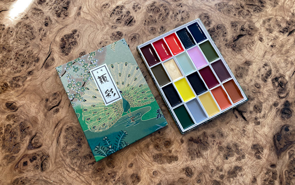 Japanese Seasons Watercolour Set