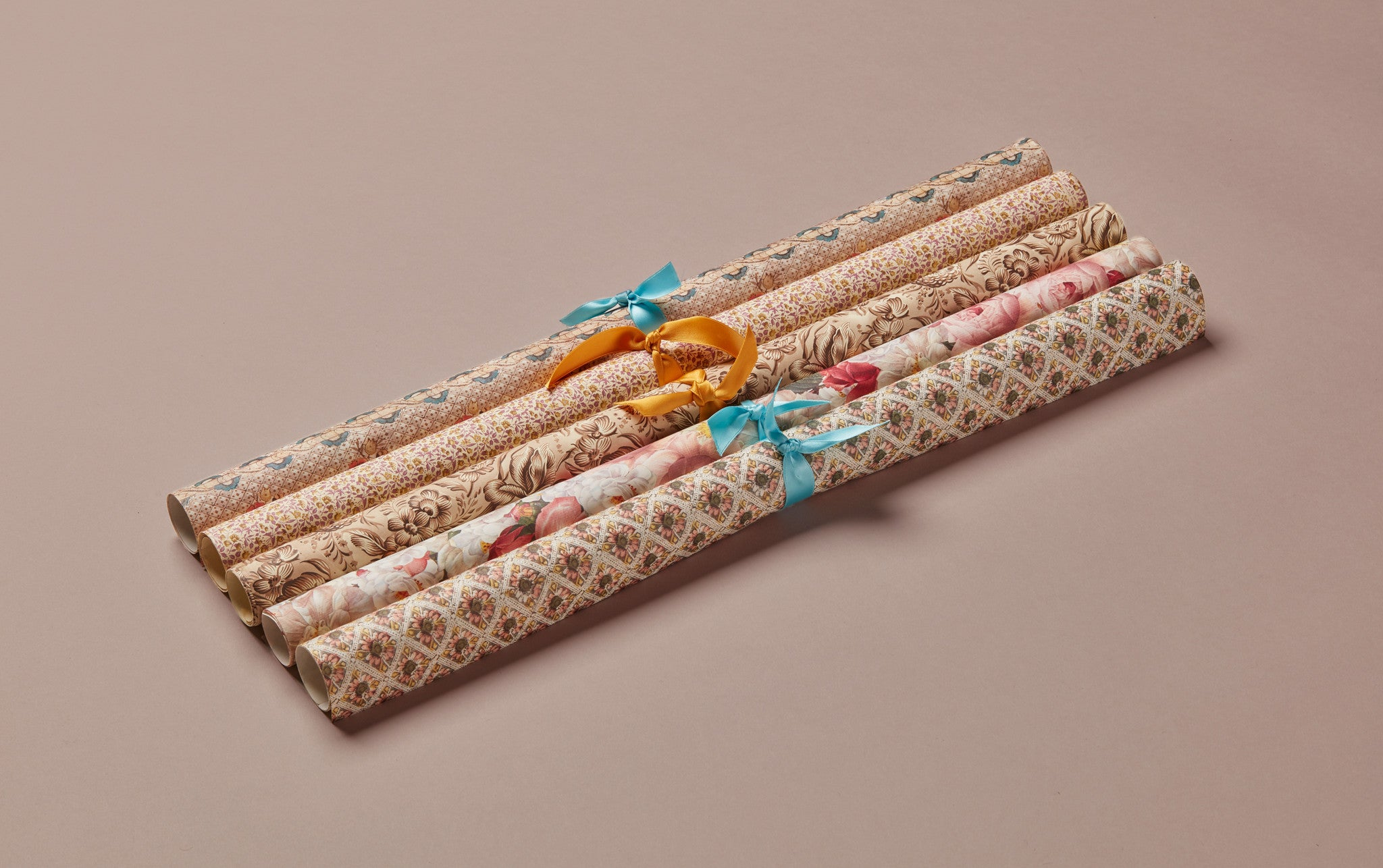 Assorted 18th Century Romance Print Wrapping Papers