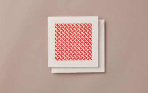 Geometric Christmas Card, no. 2