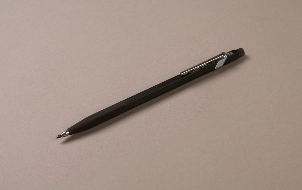 Black Caran D'Ache Fixpencil 2mm Clutch Pencil