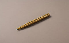 Brass Wave Kaweco Lilliput Ballpoint Pen