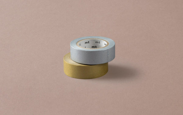 Gold and Silver MT Masking Tape