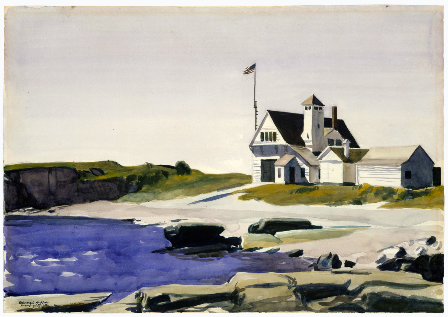 Luxury Zecchi 8 Watercolour Artist's set - Edward Hopper and Georgia O'Keefe