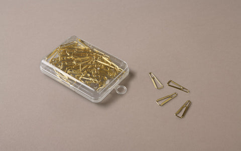 80 Brass Paper Clips