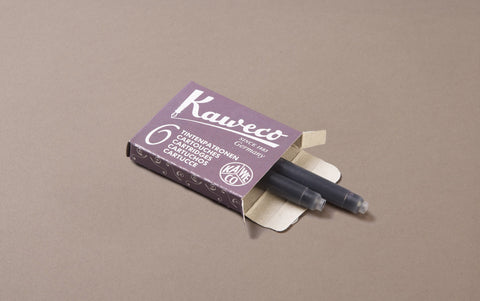 Purple Kaweco 6 Pack Ink Cartridges