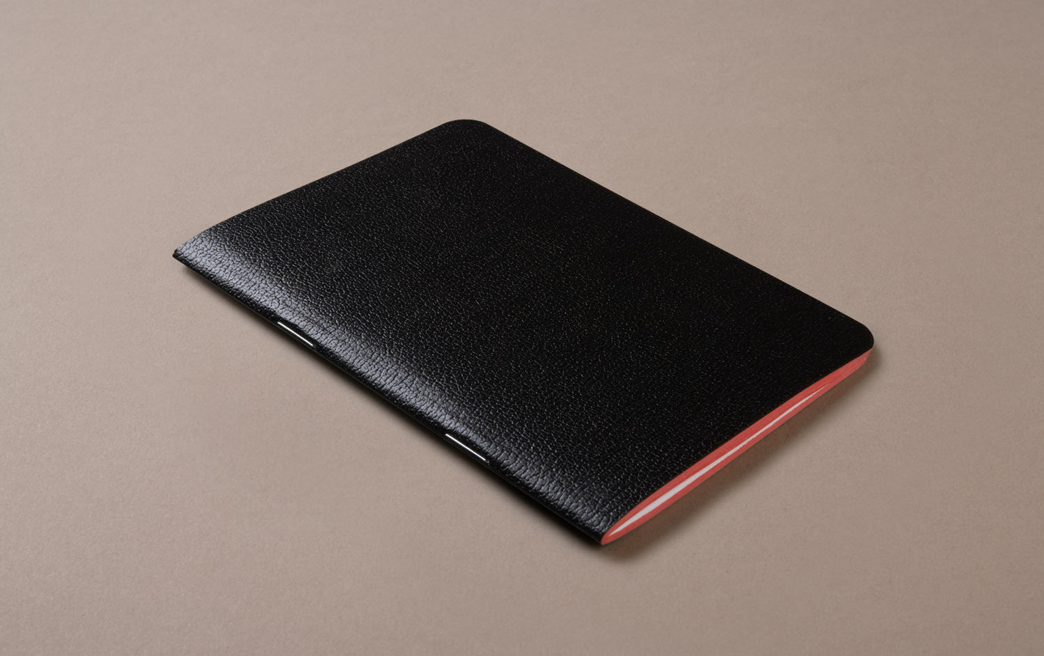Black Choosing Keeping Medium Notebook