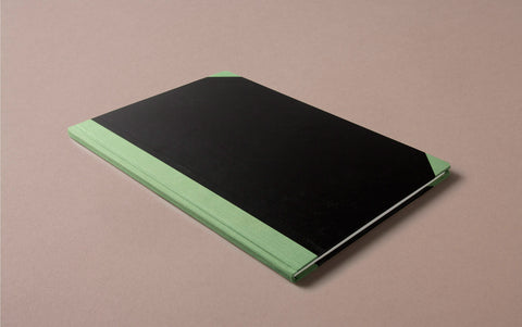 Hardback A4 Ledger Notebook - Lined