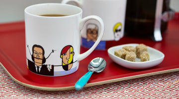 Great Modern Artists Mug hits the big time.