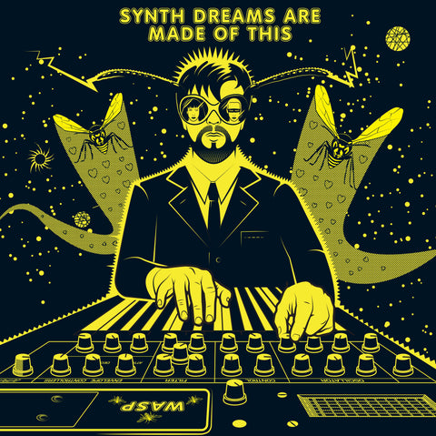 Eurthymics: Gods of Synth Electronic Music Limited Edition Print by Andy Tuohy