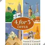 Golden Age of Aviation: 4 for 3 Prints Bundle