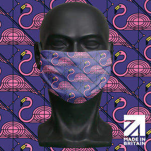 Face mask - Flamingo