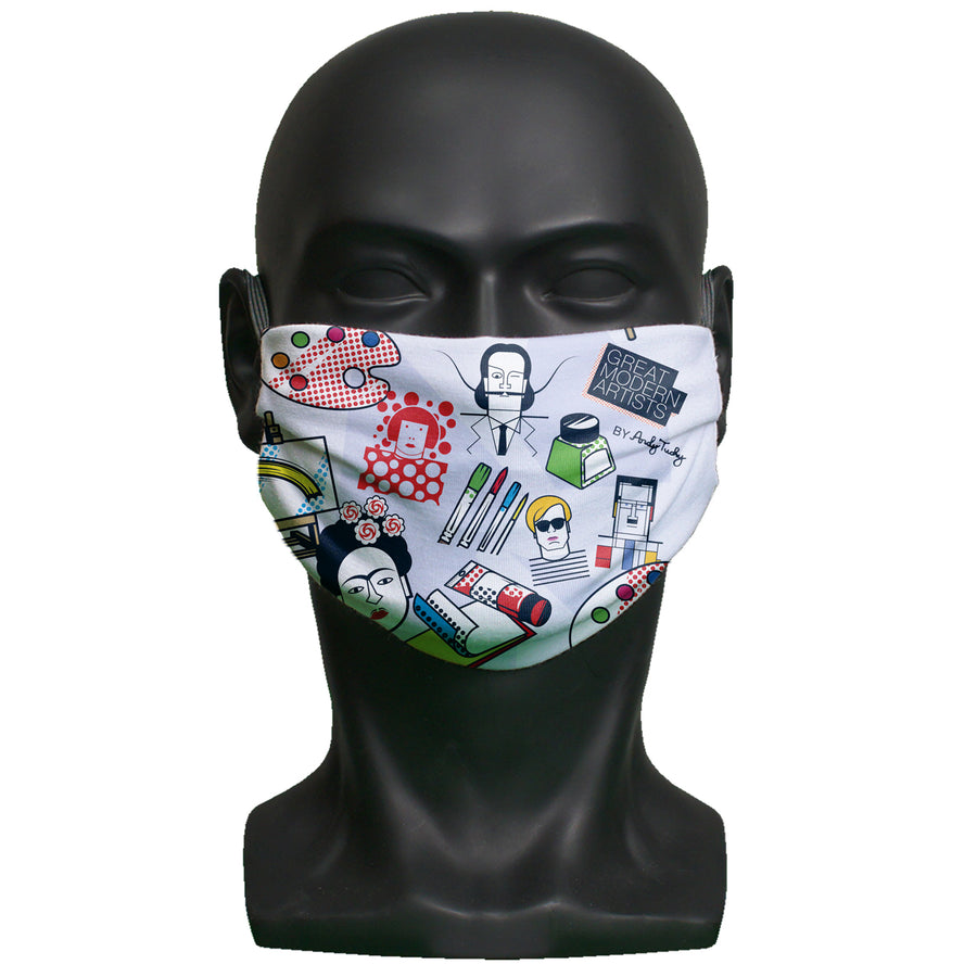 Face mask - Great Modern Artists