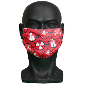 Face mask - Kraftwerk - Red