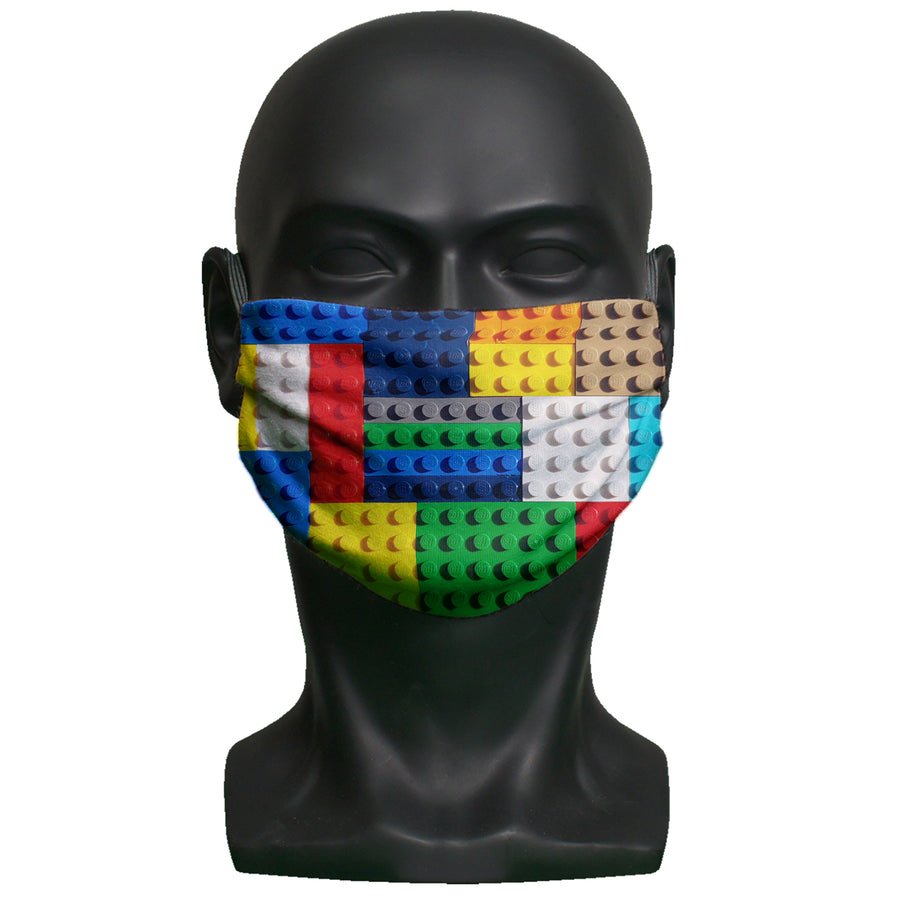Face mask - Bricks