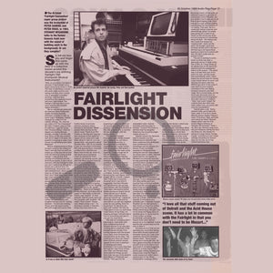 FREE / Fairlight Convention Interview / Peter Gabriel