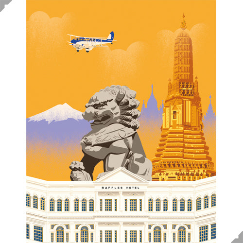 Golden Age of Aviation: Asia Print